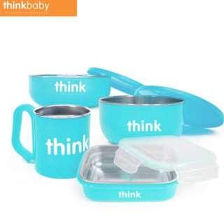 🚚 美國thinkbaby環保不鏽鋼兒童餐具
