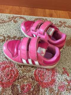 Authentic Adidas sport shoe for girl children