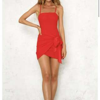 Hello Molly Red Dress