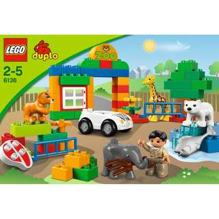 My First Zoo 6136 LEGO DUPLO