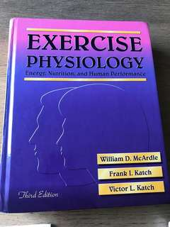 Exercise Physiology— McArdle, Katch, Katch