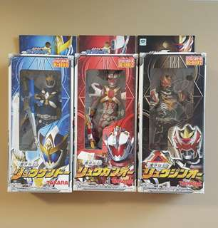 Ryukendo, Ryuguno and Ryujiro. Madan Warriors