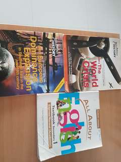 Sec3/4 textbooks (2$ each)