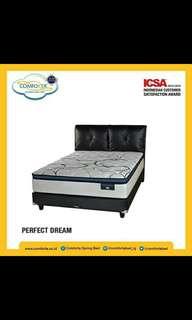 Comforta Spring Bed Kredit Tanpa Dp Bebas Bunga
