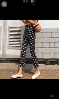 Jynn polka dot trousers