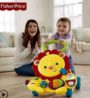 BNIB Fisher Price musical lion walker