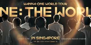 [helping to buy] wanna one singapore concert