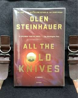 # Novel《Bran-New + The Espionage Spy Mystery & Terrorism Thriller Fiction》Olen Steinhauer - ALL THE OLD KNIVES