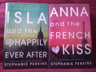 ISLA AND THE HAPPILY EVER AFTER AND ANNA AND THE FRENCH KISS by STEPHANIE PERKINS
