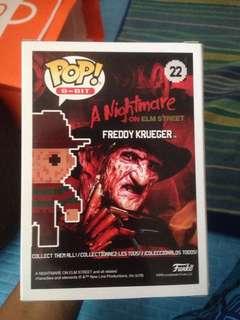 Freddy Krueger 8-bit pop