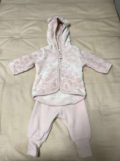 H&M Baby Fleece Set (2-4 months)