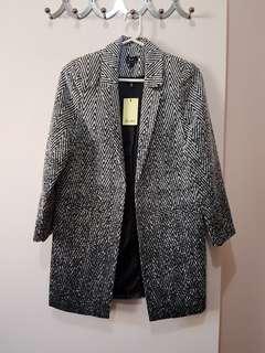 Bardot Print Coat