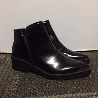 Zara Black Ankle Boots