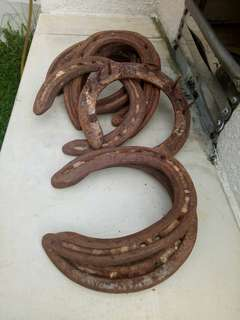 Horse shoes, ladam kuda antik