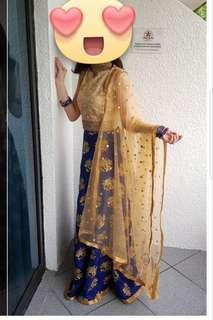 Beautiful Indian 2-piece Dress