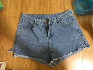 🚚 3XL牛仔短褲