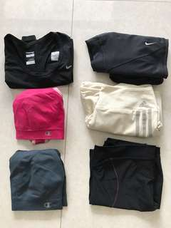 Women's bundle sports wear