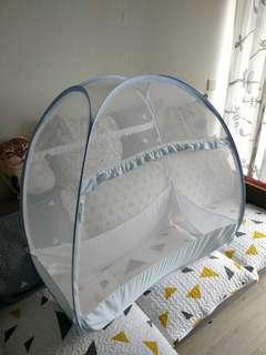 嬰兒網防蚊帳