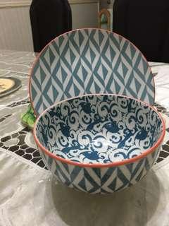 Desert plate n bowl