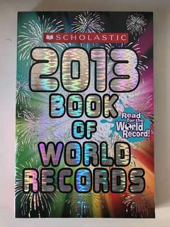 2013 Book of World Records