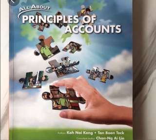 Principles Of Accounts Textbook POA