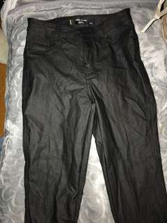 Factorie leather pants. Size AUS 10