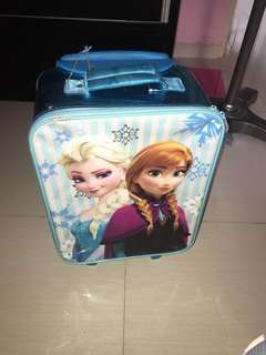 Frozen luggage
