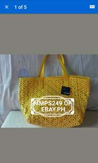BASIC EDITIONS CUT OUT TOTE BAG FROM USA