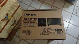 日本TWINBIRD 油切氣炸烤箱(TS-D067TW)