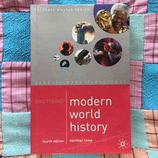 Mastering Modern World History (4th Ed.)