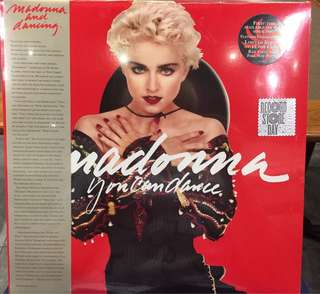 RSD 2018 - Record Store Day Madonna You can Dance Vinyl LP limited to 12,000 copies