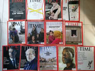 Assorted Time Magazine