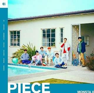 MONSTA X-Piece [1st Japanese Album]