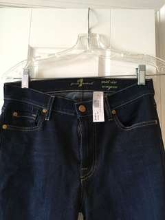 BNWT 7 FOR ALL MANKIND JEANS