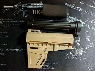 Toy Gun Replica buttstock