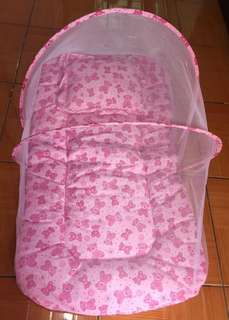 Portable-Folding Baby Bed with mosquito net