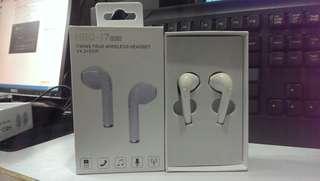 HBQ-i7 tws一對藍牙無線耳機 - 全新有盒- 白色