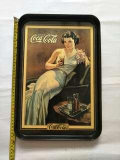 Classic coke glass tray