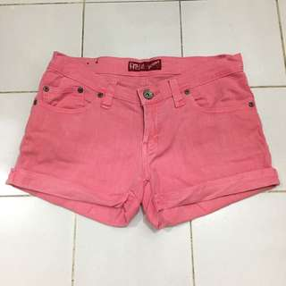 Free & Free Jeans Pink Hotpants