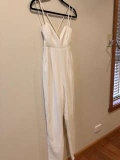 The FIFTH label White Playsuit XS NWOT