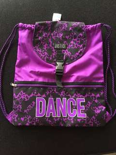 ORIGINAL JUSTICE PURPLE DANCE BAG