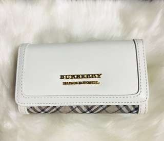 ❤️SALE!!❤️Authentic Burberry Multicles 5 Key 🔑 Holder Wallet