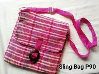 Sling bag from bicol