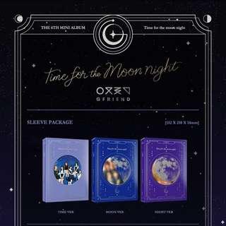 GFRIEND-Time For The Moon Night [6th Mini Album]