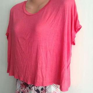 BNWT Pink Rose Top