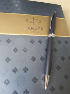 Parker Sonnet Matte Black CT BP