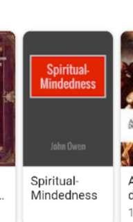 Looking for : john owen -spiritual mindedness