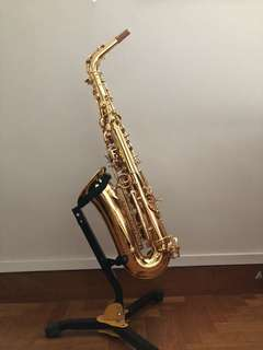 Alto Saxophone with Case