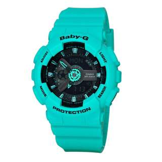 Very popular analog digital Casio Baby-G BA-111-3ADR G-Shock