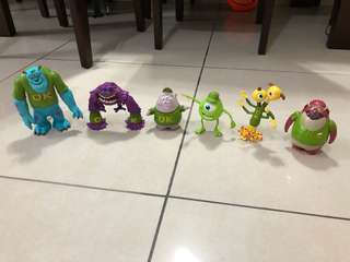 Disney Monster University Figures